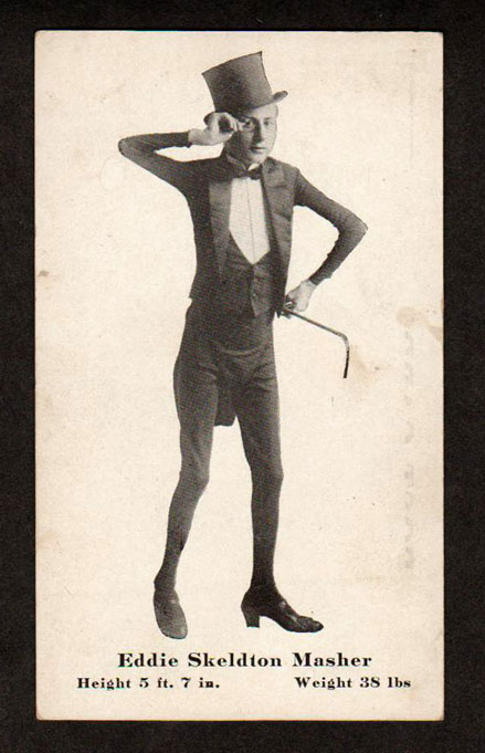 /'The Dog-Faced Boy Freak Show Carnival Poster/' Tin Sign Strange Oddity Sign.